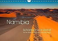 Namibia, Schoenheit und Vielfalt (Wandkalender 2022 DIN A4 quer): Namibia in abwechslungsreichen Ansichten (Monatskalender, 14 Seiten )
