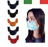Clip 'n see - Supporto per il naso anti appannamento occhiali con mascherina - set 5 pezzi