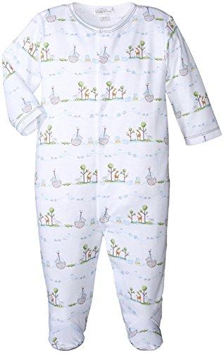 Kissy Kissy Baby-Boys Infant Noah's Print Footie-Light Blue-Newborn