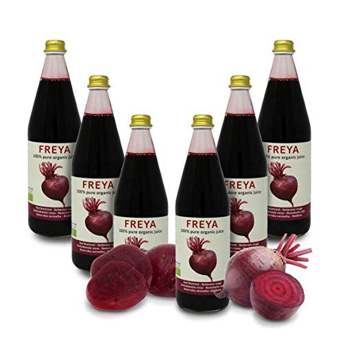 Carioni Food & Health 100% Red Beet Juice, Pure Extract, Lacto-Fermented, 0.75-Litre Bottle (pack of 6 pieces)