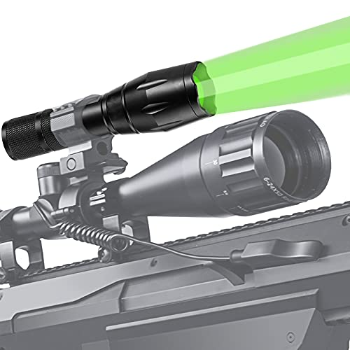 ANEKIM Green Hunting Light 1000 Yard Zoomble...