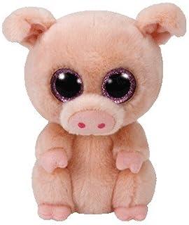 Ty Beanie Boo Plush – Piggley The Pig 15cm