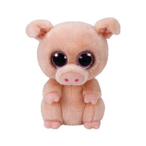 Ty Beanie Boo Plush - Piggley The Pig 15cm