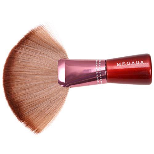 Pixnor Fan Pinceau de Maquillage Pinceau en Poudre Surligneur Pinceau Blush Pinceau Kabuki Pinceau de Maquillage Bronzer Brosse Cosmétiques Pinceaux pour Poudre Liquide Crème