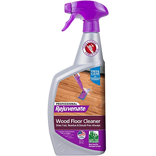 Rejuvenate High-Performance Professional Hardwood Floor Cleaner