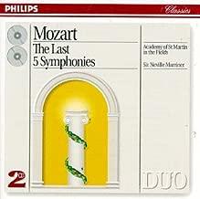 Mozart: Last 5 Symphonies