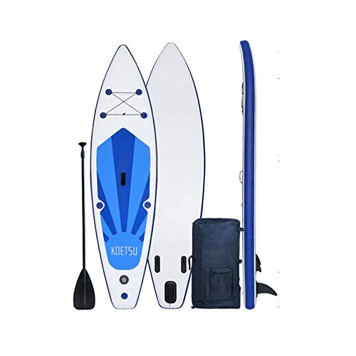 Leafik Inflatable Stand up Paddle Board, 12ft sup Paddle Board,Drop Stitch and PVC,travling Board,fin,Hand Pump,Leash,Repairing kit,for Surfing or Padding Adult (3.8m)