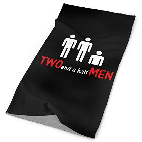 2 And A Half Men Funny Design UV Face Shield - Multipurpose Neck Gaiter,Balaclava,Elastic Face Mask for Men and Women
