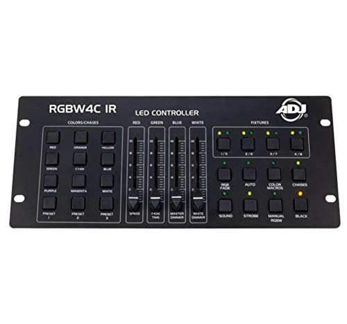 Buy American DJ 32 Channel RGB/RGBW/RGBA LED DMX Lighting Controller (2 Pack)