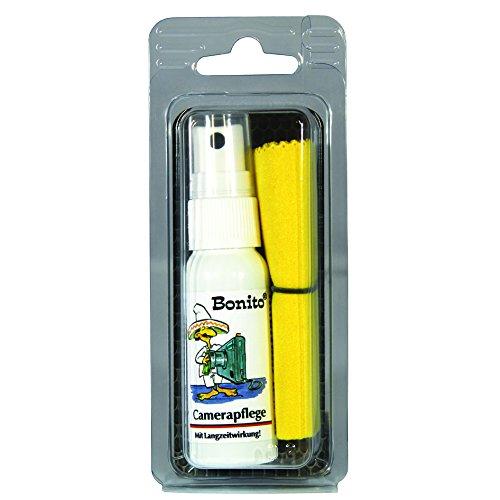 Bonito Camerapflege Set | Kamerapflege 30 ml + Mikrofasertuch | All in One Set für unterwegs | Pflege & Beschichtung |