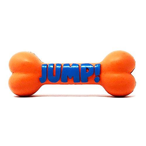 Petpany Dog Toys Pet denti pulizia &, in gomma, osso per cane da masticare palla per cani Toond osso per cane e cucciolo.