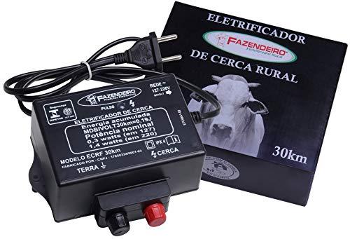 Eletrificador Rural Cerca Elétrica Fazendeiro 30 Km Bivolt
