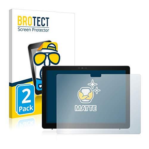 BROTECT 2X Entspiegelungs-Schutzfolie kompatibel mit Dell Latitude 7210 2-in-1 Bildschirmschutz-Folie Matt, Anti-Reflex, Anti-Fingerprint