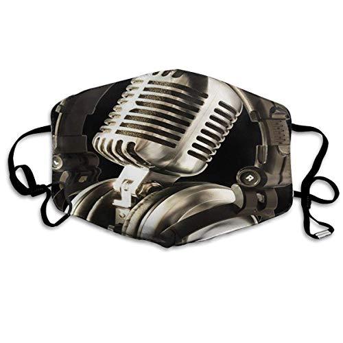 Mond Cover Microfoon Art And Music Note Anti Dust Oor Loops Herbruikbare Wasbare Gezichtsbescherming Mond Sjaal