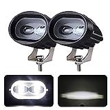 Bandas de faros del coche 2 0W LED Luz de trabajo 1 2V 24V Camión de motocicleta del coche oval de la camioneta 4WD 4X4 ATV SUV Lámpara de conducción de indicador de punto 4D 6D Faro