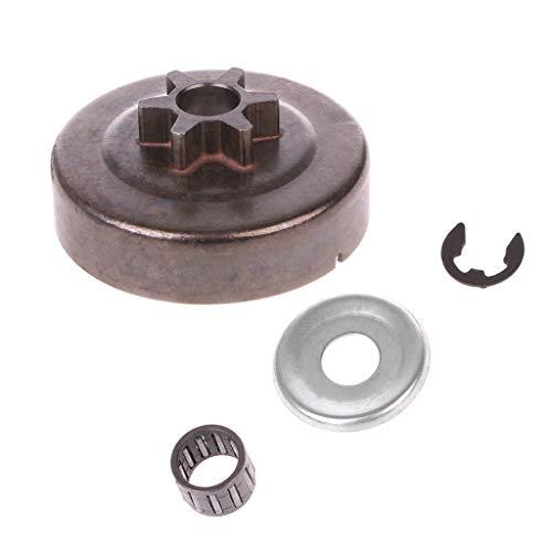 Kettingzaag Koppeling Trommel Sprocket 3/8 6T Washer E-Clip Kit voor STIHL MS170 180 Onderdelen