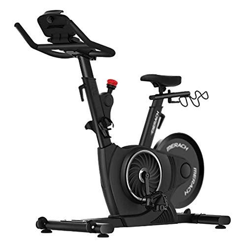 Bicicletas de ejercicio de bicicleta de spinning hogar silencioso paso a paso cubierta equipo de la aptitud bicicleta estática magnética ejercer el control de la bici de niveles múltiples ajustable