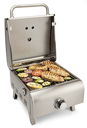 CUISINART CGG-608 Portable, Professional Gas Grill, One-Burner, Stainless Steel