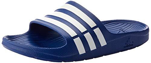 Adidas Duramo Slide, Chanclas Unisex Adulto, Azul