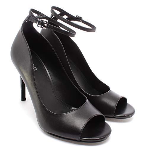 Michael Kors Damen Pumps Schuhe 40R0DAHP1L Danielle Leder Schwarz