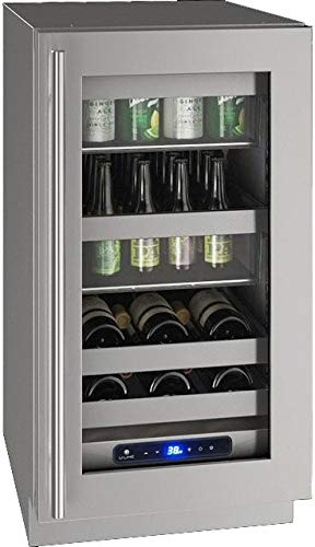 Great Features Of U-Line UHBV518SG01A 5 Class Series 18 Inch Freestanding or Built In Beverage Center in Stainless Steel