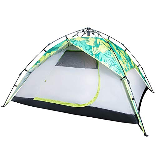 Yunyisujiao Pop Up Tent Grote 3-4 Persoon Outdoor Camping Tent Draagbare Automatische Dubbele Laag Dome Tent