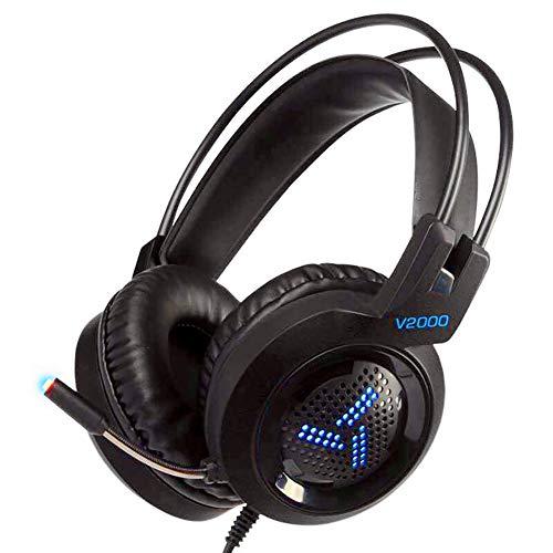 ZYWCXM Stereo Xbox one Hoofdtelefoon Professionele Competitieve Spel PS4 N7 Bedraad PC Gaming Hoofdtelefoon met Ruisonderdrukkende Microfoon voor PC/MAC / PS4 / Xbox