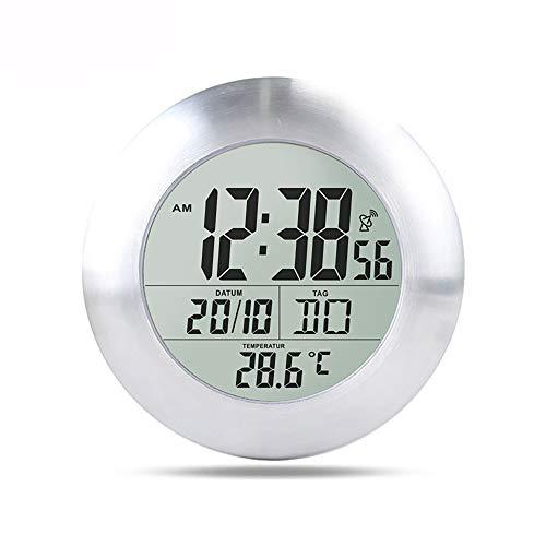 Sunjuly Pendel für Badezimmer, mit Saugnapf, Aluminiumlegierung, zum Absaugen, wasserdicht, mit Thermometer für Badezimmer im Außenbereich