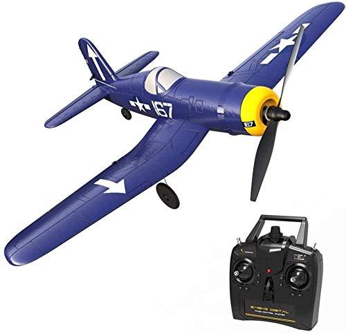 Control Remoto eléctrico de 4 Canales Glider One-Clic Volver a RC Aircraft RC Avión con giroscopio Incorporado EPP Foam RC RC Regalos para Adultos y Principiantes Excellent