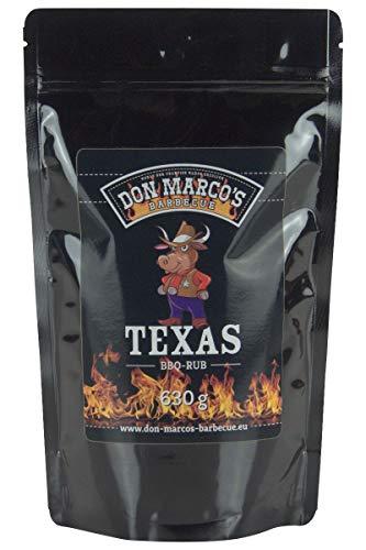 Don Marco's Barbecue Rub Texas 630g im Nachfüllbeutel, Grillgewürzmischung