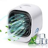 Condizionatore Portatile casa d'Aria 3 in 1 Raffreddatore d'Ari Air Cooler mini Raffreddatore d'Aria Evaporativo Portatile Umidificatore Condizionatore Silenzioso