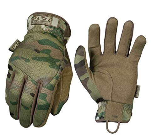Mechanix Wear Guantes MECHANIX Mod FASTFIT Multicam Talla XL Militar Goma rígidos...