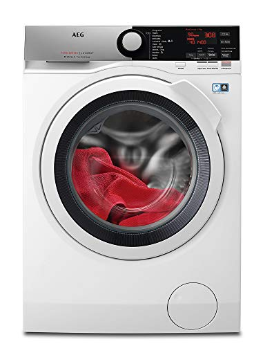 AEG L7FEE941 Independiente Carga frontal 9kg 1400RPM A+++ Blanco - Lavadora (Independiente, Carga frontal, Blanco, Botones, Giratorio, Izquierda, LCD)