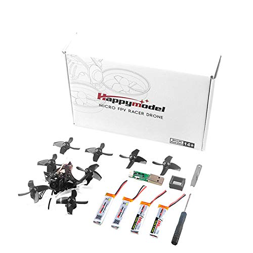 cineman Helicopter RC Quadrocopter afstandsbediening mini drone Mobula7 75mm 2S Brushless Whoop Racer Drone BNF 0802 met vier assen voor gebruik binnenshuis