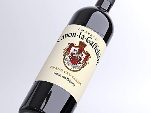 X3 Château Canon-La-Gaffelière 2015 75 cl AOC Saint-Émilion 1er Grand Cru Classé'B' Vino Tinto