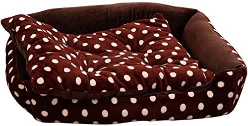 ZXCVBNN Cama de Perro, sofá para Perros, Estera de Perro Francesa, Basura para Gatos, Perrera de Invierno, Adecuado para Perros Grandes, medianos y pequeños (tamaño: pequeño)