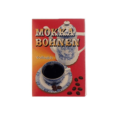 Rotstern Mokkabohnen Vollmilch 50g