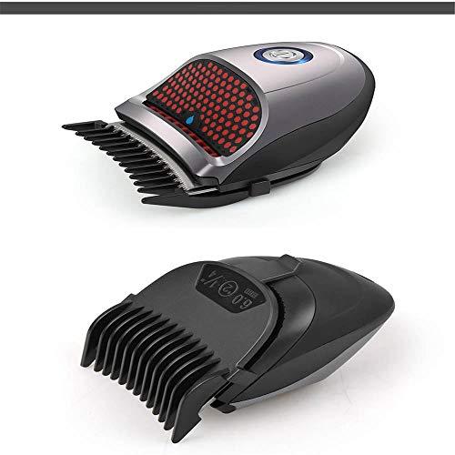 IBalody Multi- Haarschneidemaschine (Aufsteckköpfe/-kämme, Netz-/Akkubetrieb), Bart Trimmer Herren, Haarschneider, Körper-, Ohr- & Nasenhaartrimmer, selbstschärfende Klingen
