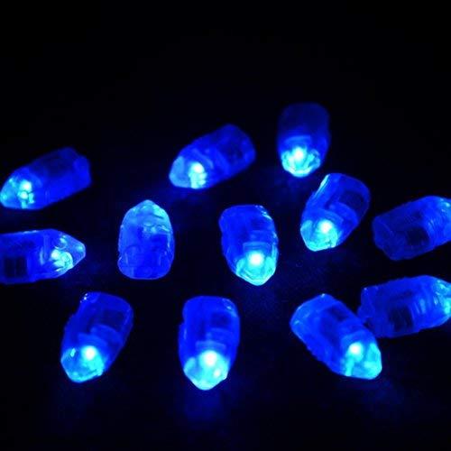 30pcs runde superbright Ballon Lichter LED Mini Party Licht für Papierlaterne Ballon Licht Party Hochzeit (blau)