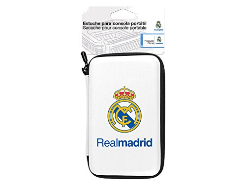 Subsonic - Caso Rígido Con Licencia Oficial Real Madrid (New Nintendo 3DS, New Nintendo 3DS XL, PSP, PS Vita)