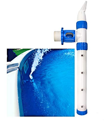 Pool Water Fountain + up to 10x Circulation for Easy Cleaning