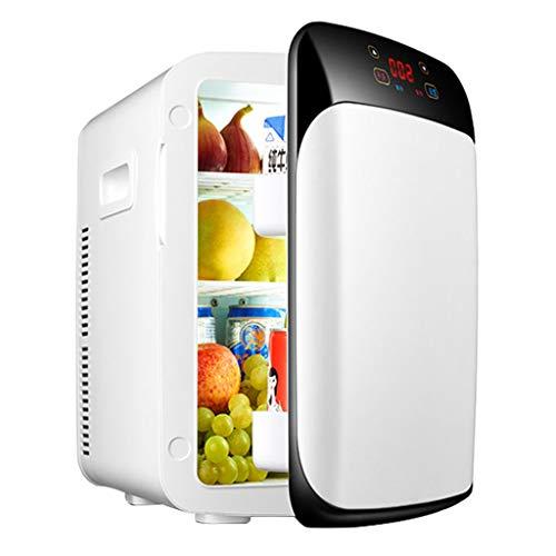 fridge Mini Fridge with Cooler and Warmer,15l Dual-Core Digital Display Car Home Mini Used for Skin Care Breast Milk Food Medicine Soda Drink Beer