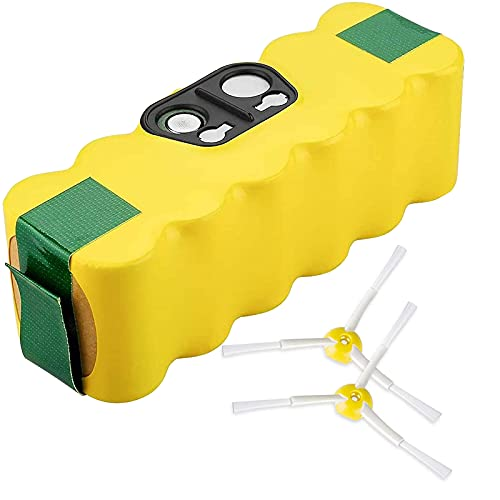 Powayup 4500mAh Ni-MH Baterías de Repuesto para iRobot Roomba Aspiradora 500 600 700 800 Serie 555 560 580 620 760 870