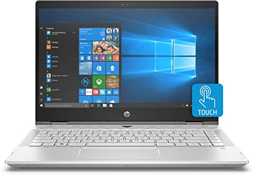 HP x360 14-CD1055 Intel i5-8265U 8GB 256GB SSD 14-inch Full HD 1920x1080 Touch Screen Convertible Laptop