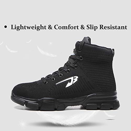 ORISTACO Steel Toe Boots For Men Women
