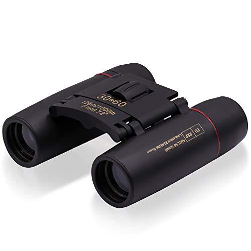 Fernglas für Erwachsene und Kinder, Fernglas mit Nachsicht, faltbares langlebiges Teleskop für Vogelbeobachtung Wanderung Sehenswürdigkeiten Jagd Sport Spiel