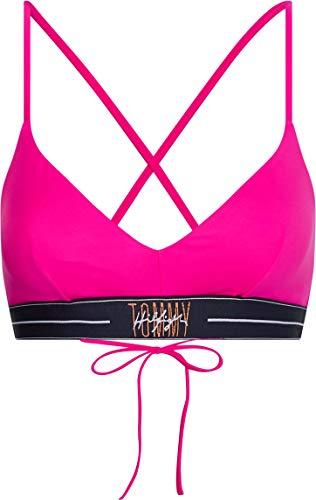 Tommy Hilfiger Damen TRIANGLE FIXED RP Bikini, Exzentrisch Magenta, XL
