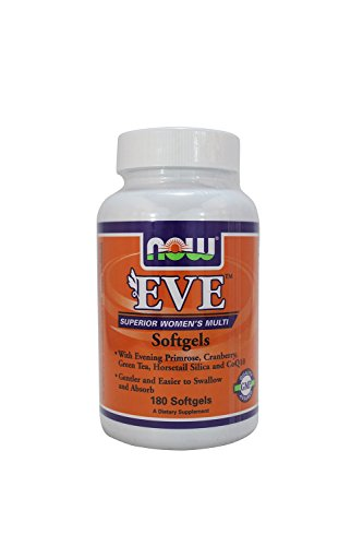 Now Foods, (2 Pack) EVE Superior Women's Multi, 180 Softgels
