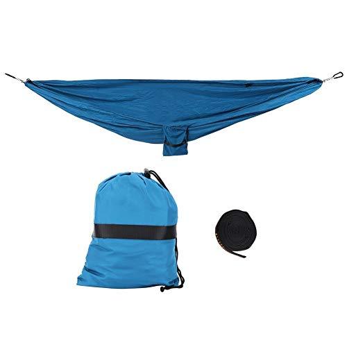 Draagbare hangmat met dubbele functie voor het ophangen van de stoel voor camping, binnenplaats, hal, outdoor, voor hangmat, camping, binnenplaats, ontspanning.