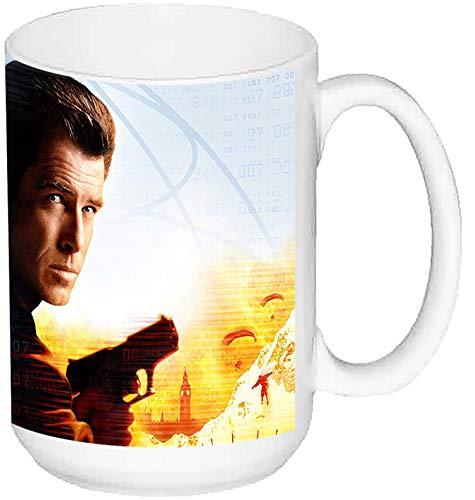 MasTazas James Bond 007 El Mundo Nunca Es Suficiente The World Is Not Enough A Taza Grande Ceramica 15 oz ≈ 443 ml